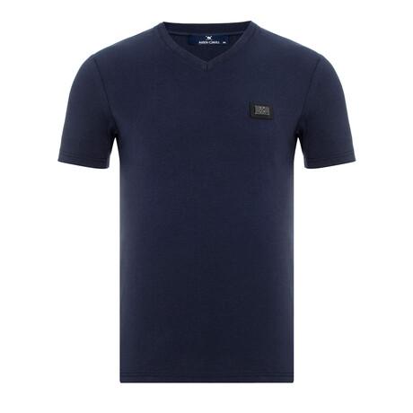 Miriama T-Shirt // Navy (Small)