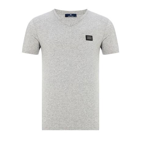 Miriama T-Shirt // Gray Melange (Small)