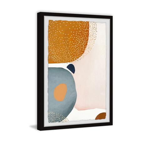 """Calm Face in the Sky Framed Print (12""""H x 8""""W x 1.5""""D)"""