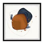 "Glowing Energy Framed Print (12""H x 12""W x 1.5""D)"
