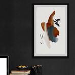 "Burnt Intensity Framed Print (12""H x 8""W x 1.5""D)"