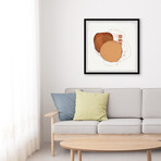 "Burnt Sadness Framed Print (12""H x 12""W x 1.5""D)"