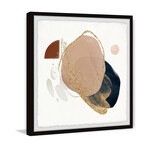 "Lost Piece Framed Print (12""H x 12""W x 1.5""D)"