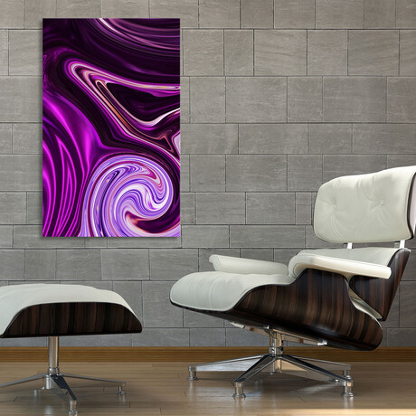 """Abstract Waves (12""""H x 8""""W x 0.75""""D)"""