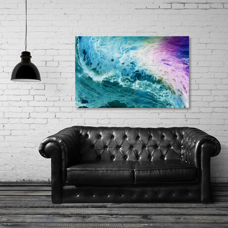 """Abstract Waves II (8""""H x 12""""W x 0.75""""D)"""