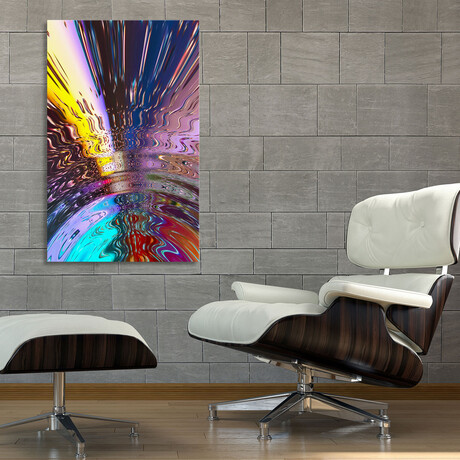 """Water Waves (12""""H x 8""""W x 0.75""""D)"""
