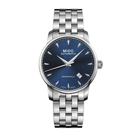 MIDO Baroncelli II Midnight Blue Automatic // M86004151