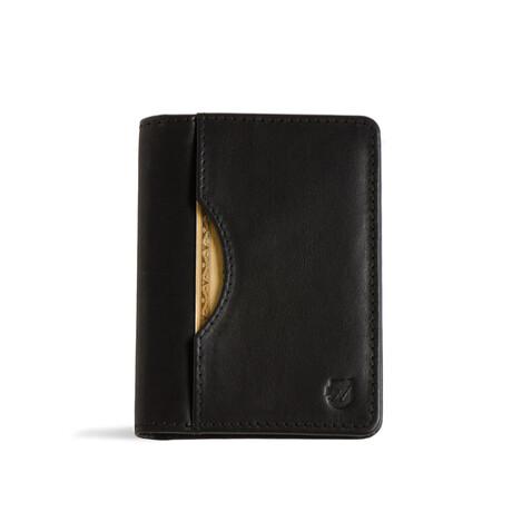 Long Slim Wallet // Vegetable Tanned // Black