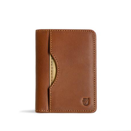 Long Slim Wallet // Vegetable Tanned // Cognac