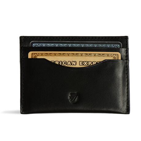 Ideal Card Wallet // Vegetable Tanned // Black