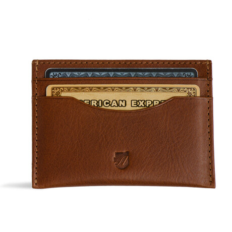 Ideal Card Wallet // Vegetable Tanned // Cognac