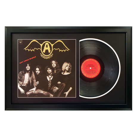 Aerosmith // Get Your Wings (White Mat)