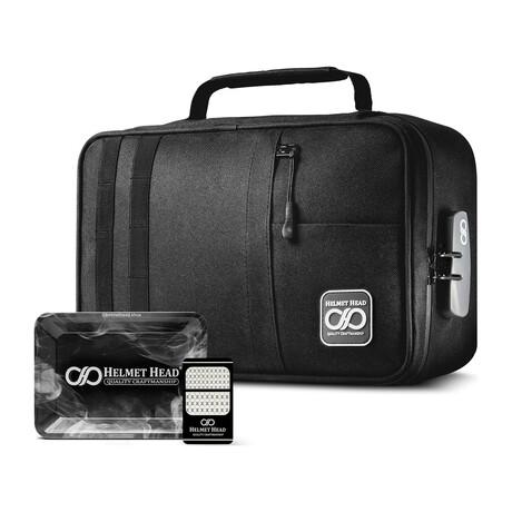 Xl Smell Proof Case // Kj33 Black + Grinder Card