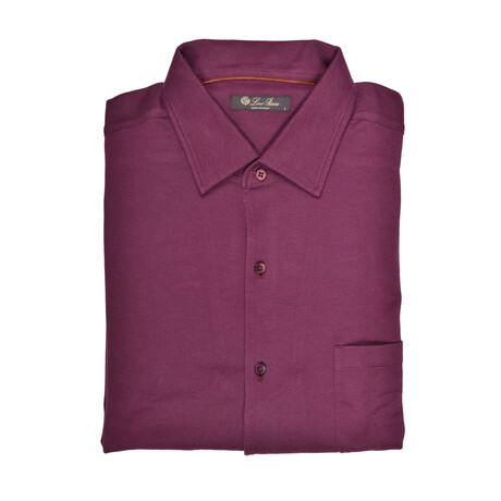 Grady Shirt // Burgundy (S)