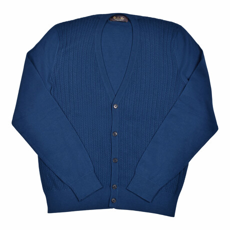 Baby Cashmere Sweater // Blue (Euro: 46)