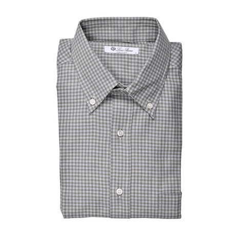 Lewis Shirt // Green Multicolor (S)