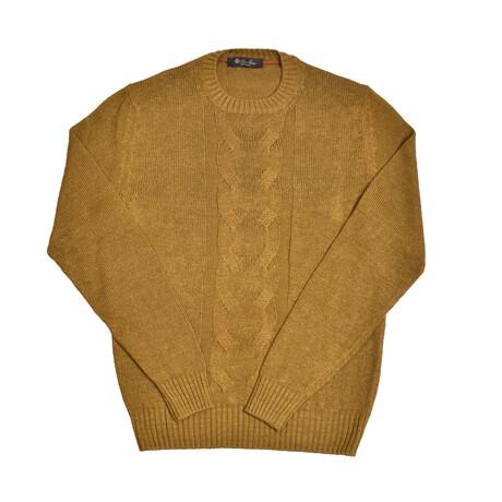 Callahan Linen Sweater // Mustard (Euro: 46)