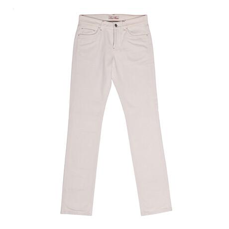 Jean Style Pants // Ivory (31WX30L)