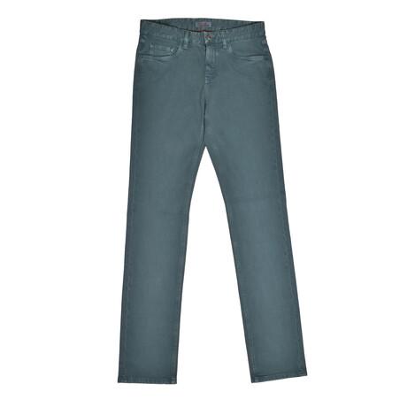 5-Pocket Jeans // Green // V2 (31WX30L)