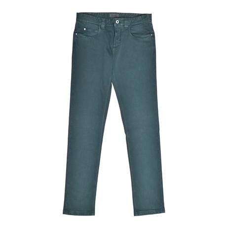 5-Pocket Jeans // Green // V1 (31WX30L)
