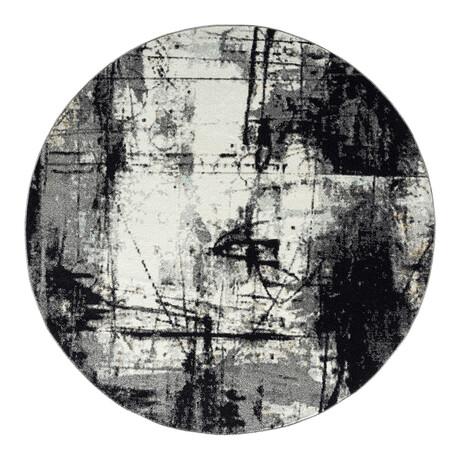Solstice Black  //  Zinc // 8' Round