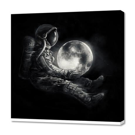 """Moonplay (12""""H x 12""""W x 0.75""""D)"""