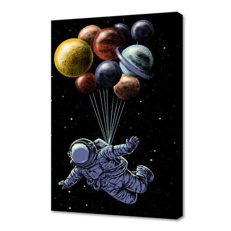 "Space Travel (12""H x 8""W x 0.75""D)"
