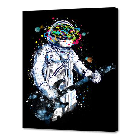 "Space Guitar (10""H x 8""W x 0.75""D)"