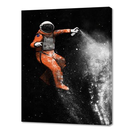 """Astronaut I (10""""H x 8""""W x 0.75""""D)"""