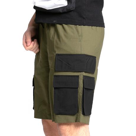Color Pocket Short // Green (XS)