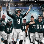 Eagles Legacy // On The Road To Victory // Art Print
