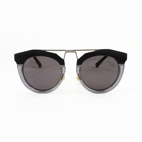 MCM // Unisex Oversized Sunglasses // Slate + Gray