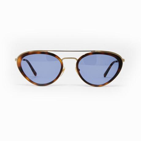 MCM // Unisex Sunglasses // Havana + Blue