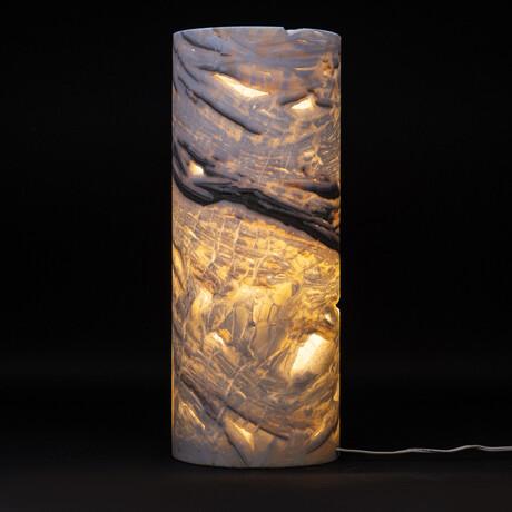Genuine Natural Round Onyx Cloud Lamp // V2