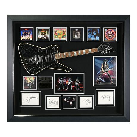 Kiss // Cracked Mirror Guitar