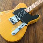 Bruce Springsteen // Fender™ Tele™ Mini Guitar Replica // Vintage Blonde