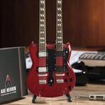 Jimmy Page // Mini Guitar Replicas // Set of 2