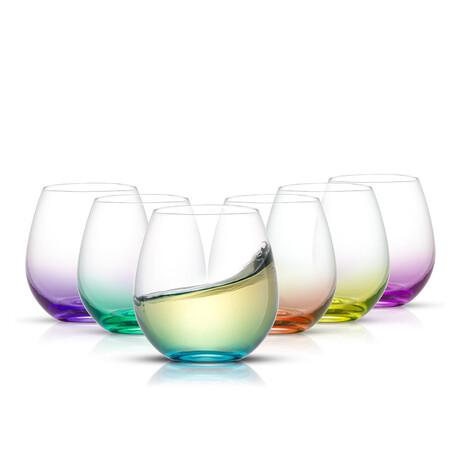 Kolor Wine Glasses // 15 oz // Set of 6