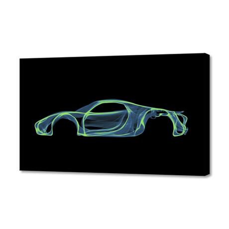 """Porsche 918 Spyder (8""""H x 12""""W x 1.5""""D)"""