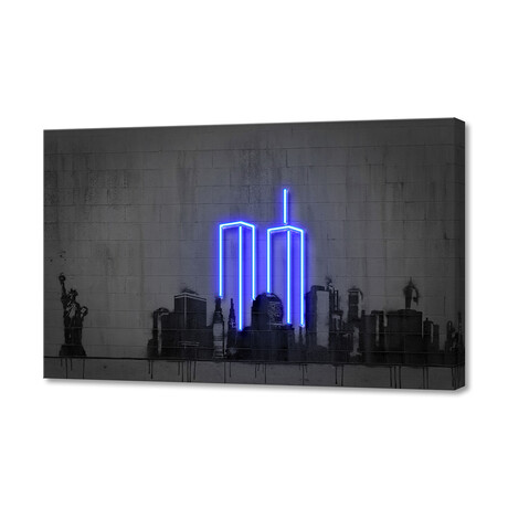 "New York (8""H x 12""W x 1.5""D)"