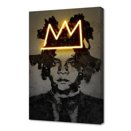 "Basquiat (12""H x 8""W x 1.5""D)"