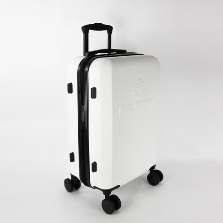 Classic Logo Carry-On Luggage // Bright White