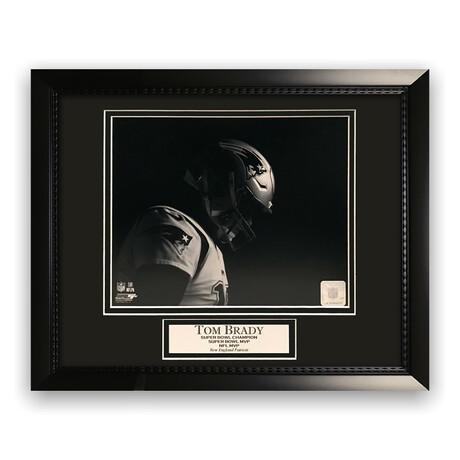 Tom Brady // New England Patriots // Unsigned Framed Photograph