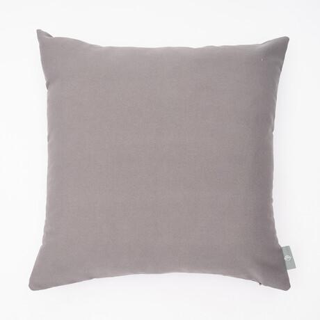 "Tristin Solids Outdoor Pillow // 18"" X 18"" (Black Beauty)"