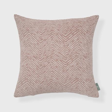 "Werner Woven Chenille Jacquard Chevron Pillow // 18"" X 18"""