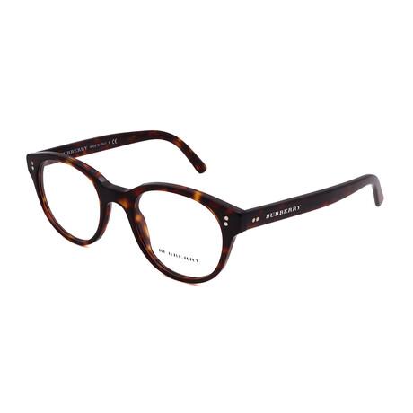 Burberry // Men's BE2194-3002 Round Optical Frames // Havana