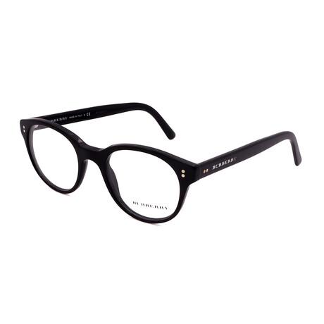 Burberry // Men's BE2194-3001 Round Optical Frames // Black
