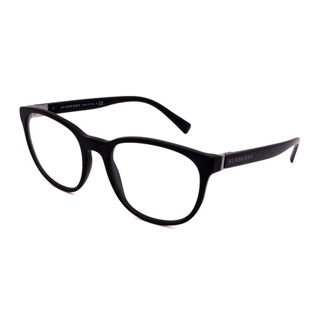 Burberry // Men's BE2247-3001 Square Optical Frames // Matte Black