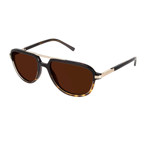 Men's Mirza Polarized Sunglasses // Black