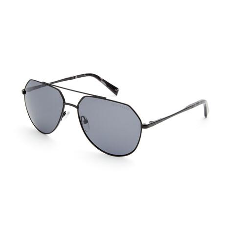 Men's Julian Aviator Polarized Sunglasses // Black